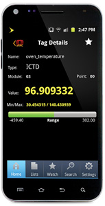 Android app for automation and control systems