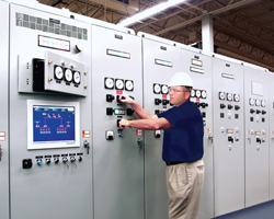 Russelectric on-site, power control systems