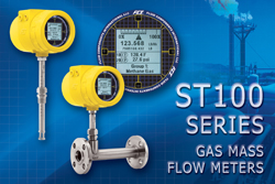 ST100 Series gas flow meters