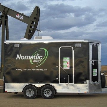 Nomadic Safety Trailer