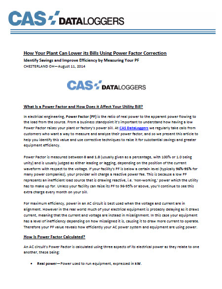 140815 CAS Bills Power Factor