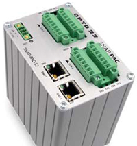 The SNAP-PAC-S2 is a stand-alone, multi-serial port, Ethernet-interface, programmable automation controller (PAC).