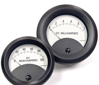 ToughMeter series 270 analog panel meters are designed to operate in harsh environments and are IP66-approved.