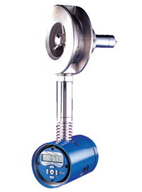 DIVA mass or volumetric energy flowmeter measures steam flow over a wide turndown.