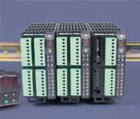 EZ-ZONE RM configurable multiloop temperature/process controller incorporates an entire assembly of control loop functionality in a spacesaving, DIN-rail-mount package.