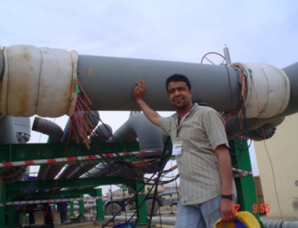 Figure 6 : Gas pipeline system