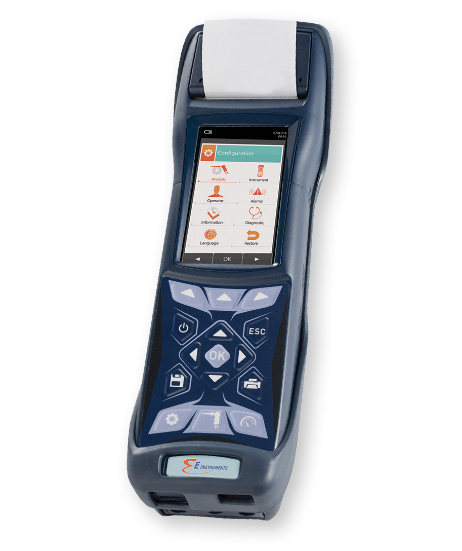 E6000 combustion gas and emissions analyzer