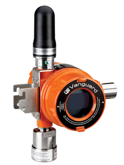 Vanguard WirelessHART gas detector